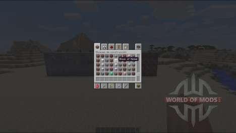 Новые руды для Minecraft