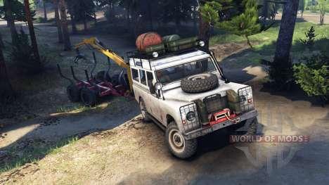 Land Rover Defender Series III v2.2 White для Spin Tires
