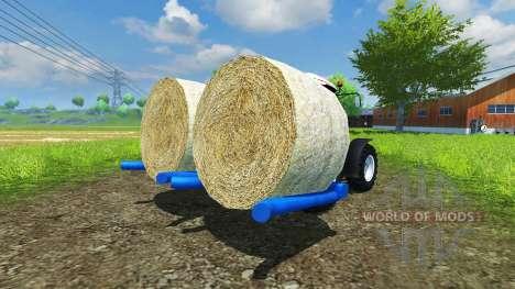Подборщик круглых тюков Goweil для Farming Simulator 2013