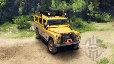 Land Rover Defender Series III v2.2 Camel Trophy для Spin Tires