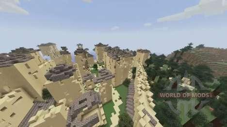 Генератор города для Minecraft