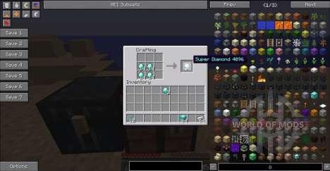 Супер алмазные предметы для Minecraft