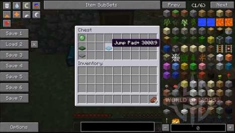 Платформы для прыжков для Minecraft