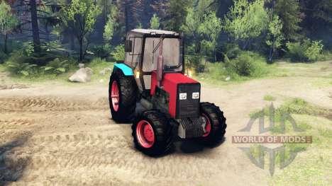 МТЗ-1221 для Spin Tires