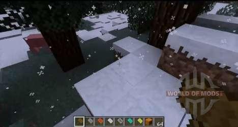 Снегопад для Minecraft
