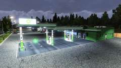 АЗС BP для Euro Truck Simulator 2