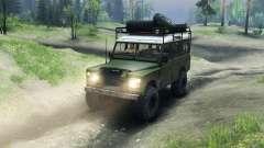 Land Rover Defender Series III v2.2 Olive для Spin Tires