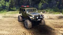 Jeep Wrangler Unlimited SID Green для Spin Tires