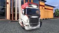 Окрас -R500- на тягач Scania для Euro Truck Simulator 2