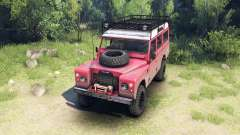 Land Rover Defender Series III v2.2 Red для Spin Tires