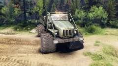 Урал-4320 Полярник v1.2 для Spin Tires