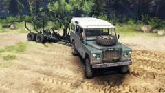 Land Rover Defender Series III v2.2 Cyan для Spin Tires