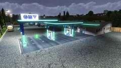 АЗС OMV для Euro Truck Simulator 2