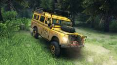 Land Rover Defender v2.2 Camel Trophy Siberia для Spin Tires