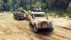 Land Rover Defender Series III v2.2 Sand для Spin Tires