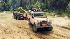 Land Rover Defender Series III v2.2 Sand для Spin Tires