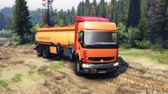 Renault Premium Orange для Spin Tires