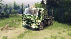 КамАЗ-6520 camo v1 для Spin Tires