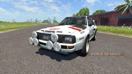 Audi Sport Quattro B2 (Typ 85Q) 1984 для BeamNG Drive
