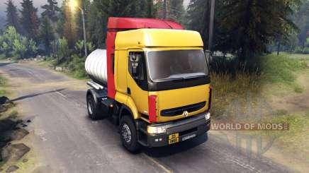 Renault Premium Yellow для Spin Tires