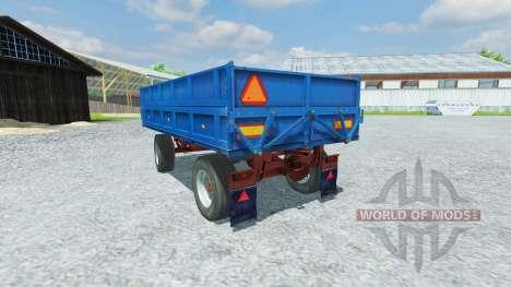 Прицеп FORTSCHRITT HW 80.11 для Farming Simulator 2013