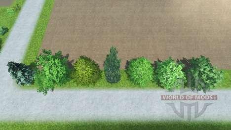 Размещаемые деревья для Farming Simulator 2013