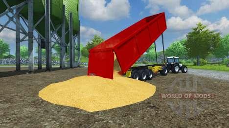Полуприцеп Schmitz SKI 50 v2.0 для Farming Simulator 2013