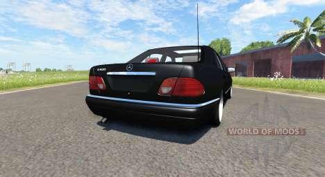 Mercedes-Benz E420 W124 tuning для BeamNG Drive