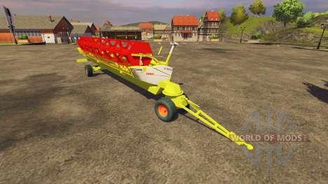 Жатка CLAAS 900 Vario 2008 для Farming Simulator 2013