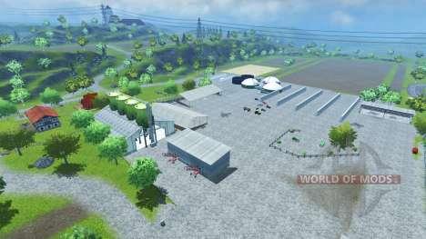 Bahlen Map для Farming Simulator 2013