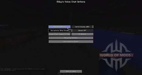 Голосовой чат для Minecraft