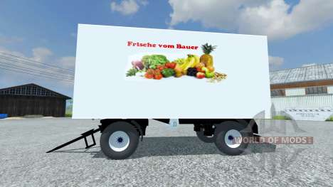 Прицеп Koffer для Farming Simulator 2013