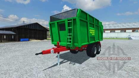 Прицеп Strautmann Mega-Trans SMK 14-40 для Farming Simulator 2013