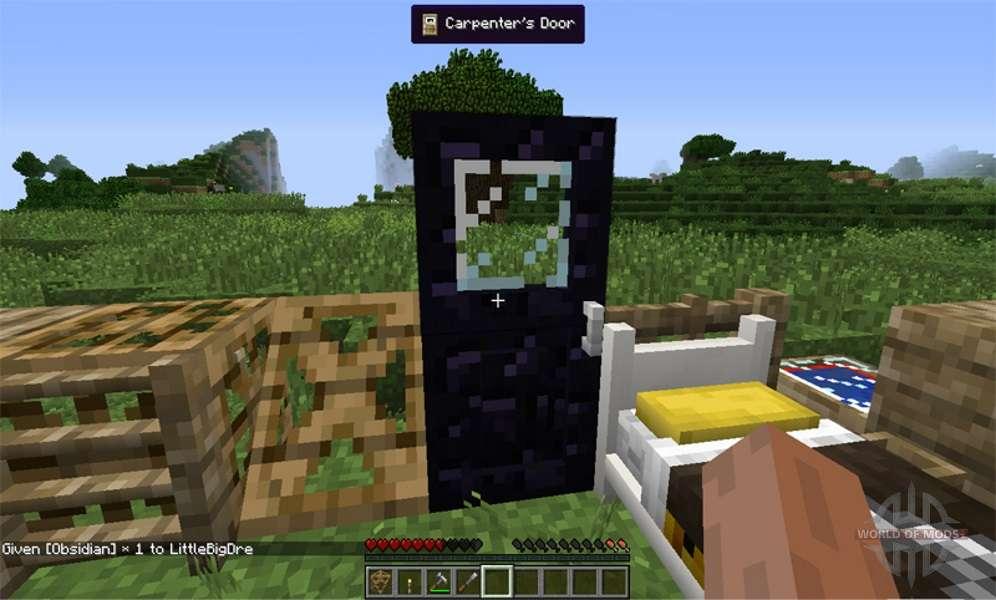 [1.7.2] Carpenter's Blocks - блок плотника » Майнкрафт ...