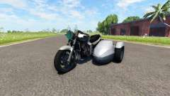 Ducati FRC-900 with a sidecar v4.0 для BeamNG Drive