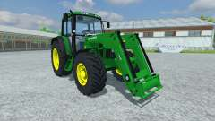 John Deere 6506 FL v2.5 для Farming Simulator 2013