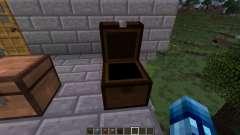 Сундуки из разных сортов дерева для Minecraft