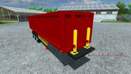 Полуприцеп Schmitz SKI 50 для Farming Simulator 2013