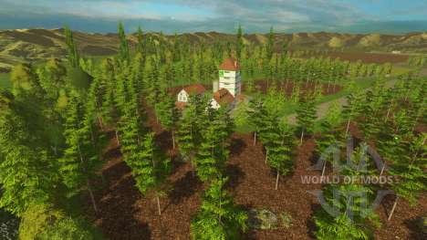 Локация -Деревушка- для Farming Simulator 2015