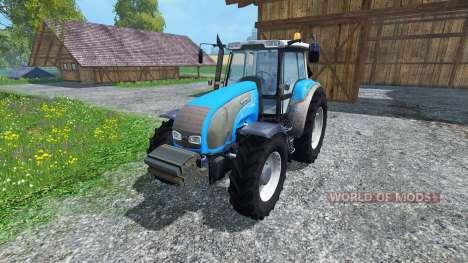 Valtra T140 Blue для Farming Simulator 2015