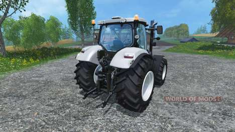 New Holland T6.160 increased tires для Farming Simulator 2015