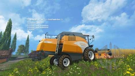 Fast Switcher для Farming Simulator 2015