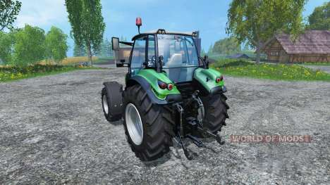 Deutz-Fahr Agrotron 430 TTV для Farming Simulator 2015