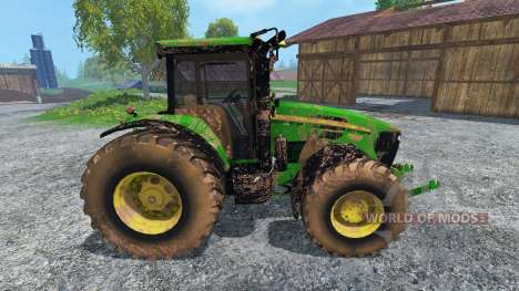 John Deere 7930 dirt для Farming Simulator 2015