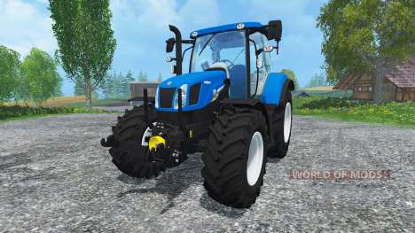 New Holland T6.160 Ohne Glanz для Farming Simulator 2015