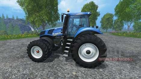 New Holland T8.320 dualrow для Farming Simulator 2015