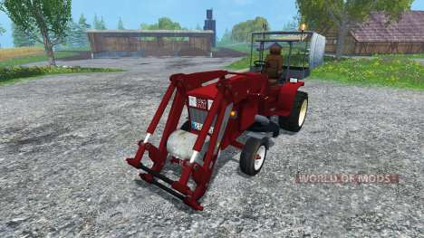 Hoftraktor HT13E FL clean для Farming Simulator 2015