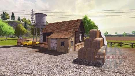 Русская карта для Farming Simulator 2013