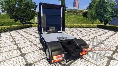 Высокие выхлопные трубы для Euro Truck Simulator 2