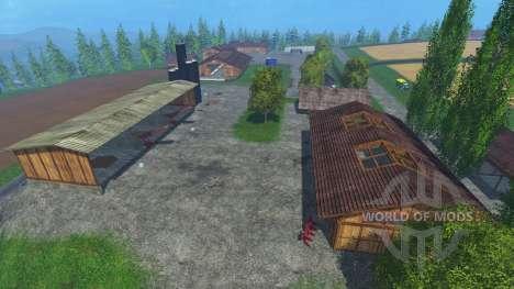 Локация -Бьорнхольм- v1.1 для Farming Simulator 2015